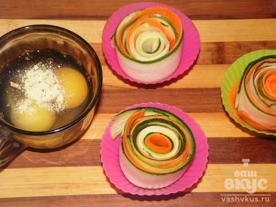 Овощной омлет в новом имидже