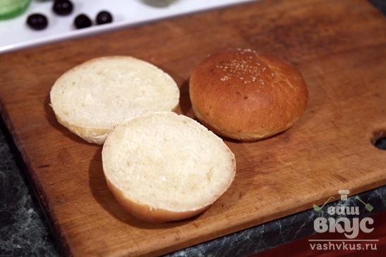 """Сэндвич с сыром """"Дор Блю"""" и огурцом"""