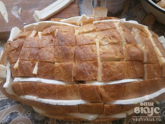 Закусочный батон с сыром