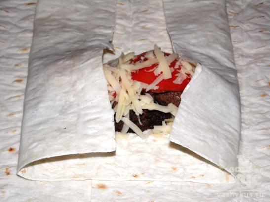 Пирожки из лаваша