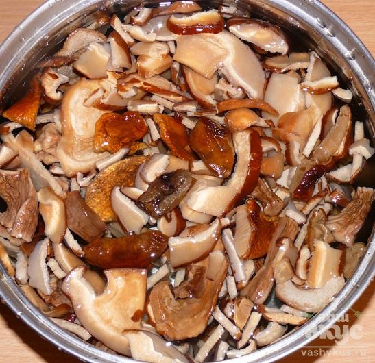 Икра из сушеных грибов