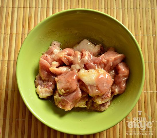 Свинина в медовом соусе