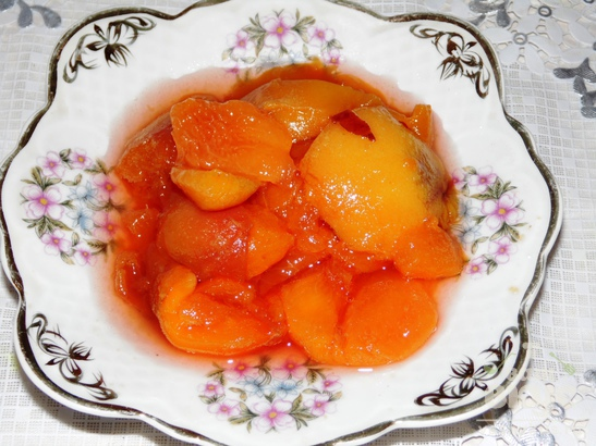 Персиковый джем