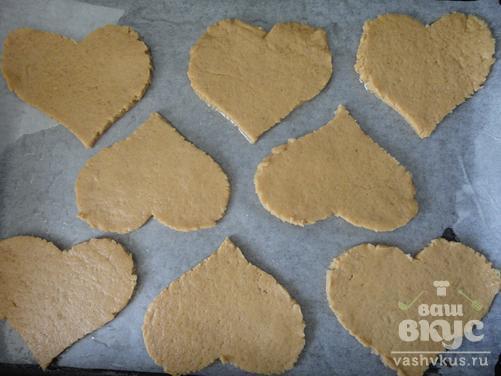 Пряное медовое печенье
