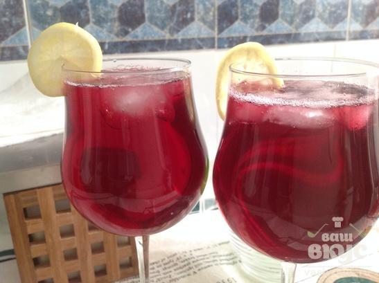 """Испанский коктейль """"Тинто верано"""""""