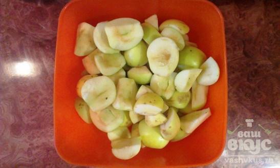 Яблочный штрудель в духовке
