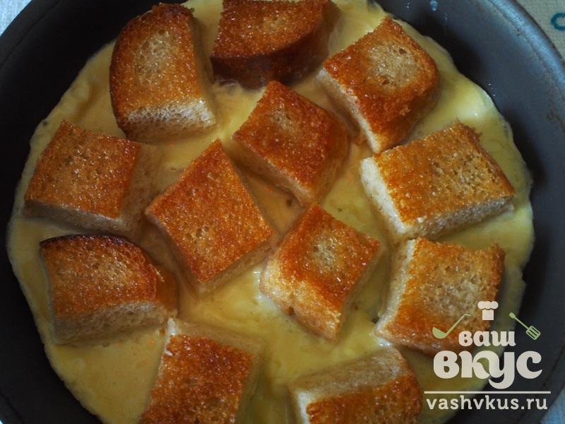 Жареный хлеб с яйцом рецепты