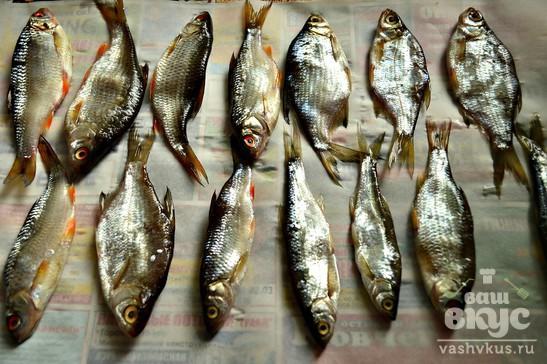 Рыбка сушеная к пиву