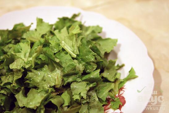 """Салат весенний с сыром """"Манчего"""""""