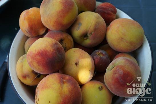Персиковый джем в мультиварке на зиму
