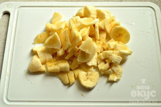 Творожно - банановая запеканка