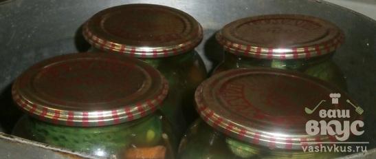 Огурцы, маринованные с кетчупом на зиму