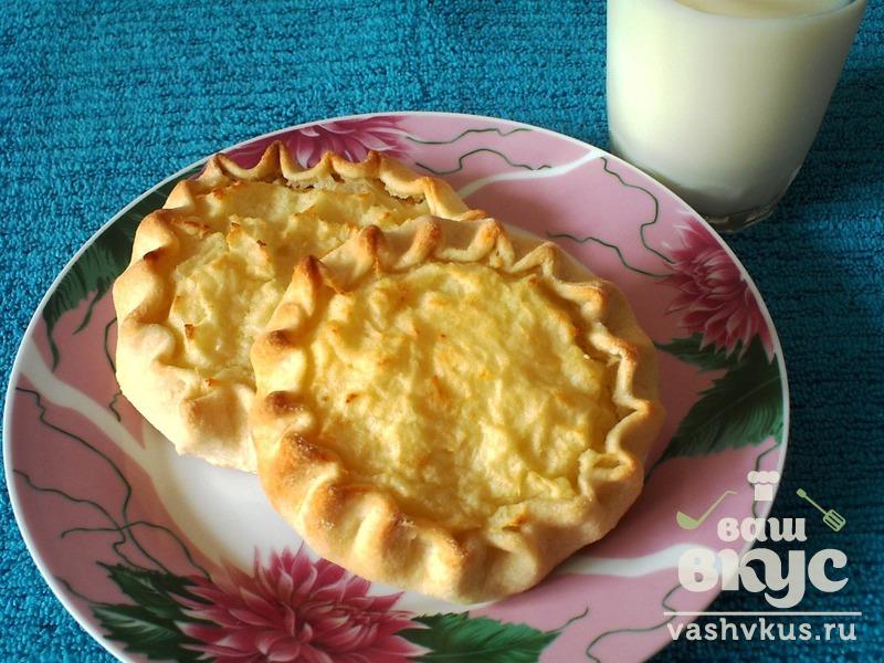 шаньга картофельная в духовке рецепт