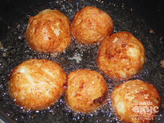 Творожные пончики в глазури