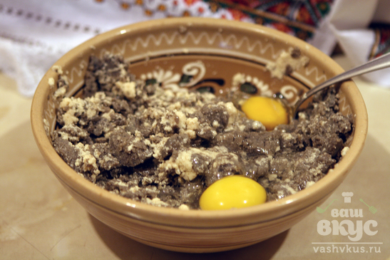 Рыбные шарики в ореховой панировке