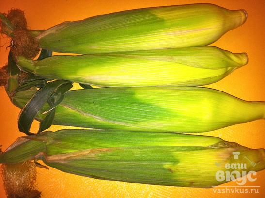 Кукуруза на пару