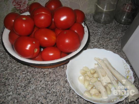 """""""Хреновина"""" с помидорами"""