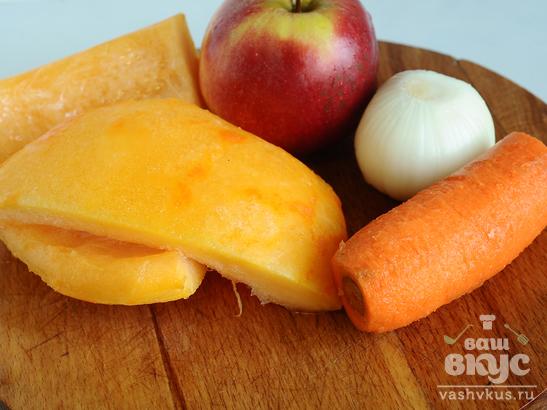 Кукурузная каша с овощами