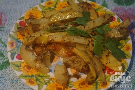 Запеченный картофель с итальянскими травами