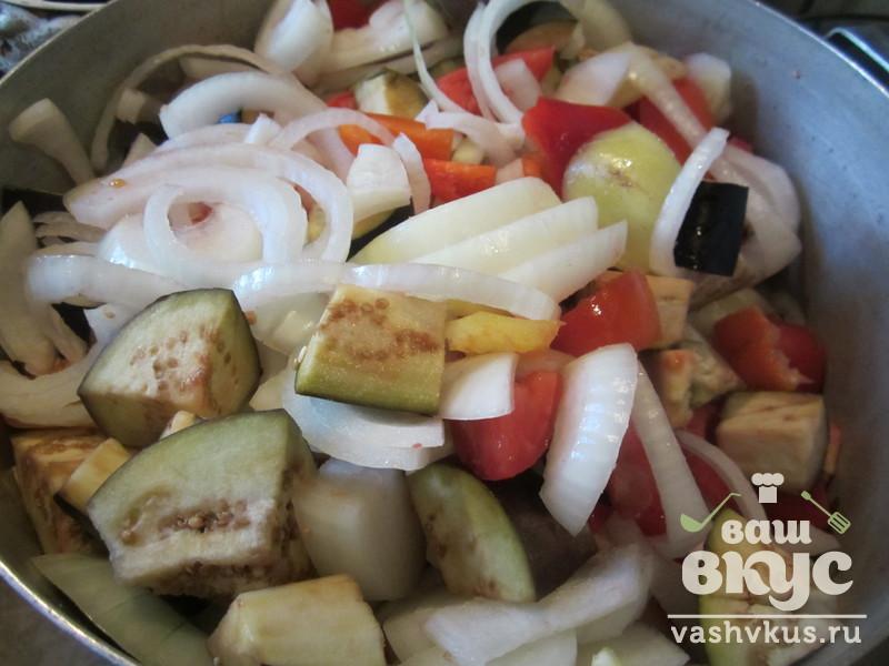 рецепт из баклажанов на зиму десятка