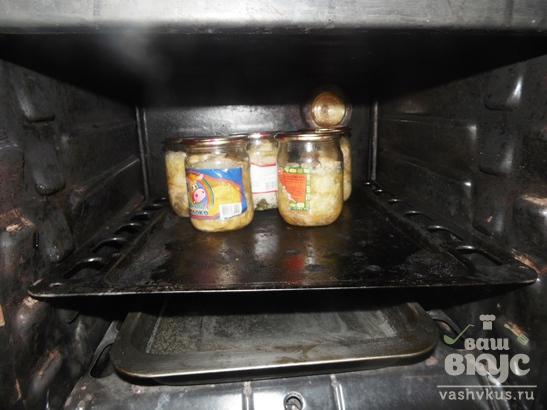 Куриная тушенка в духовке