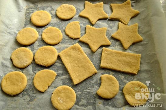 Песочное печенье с кокосовой стружкой