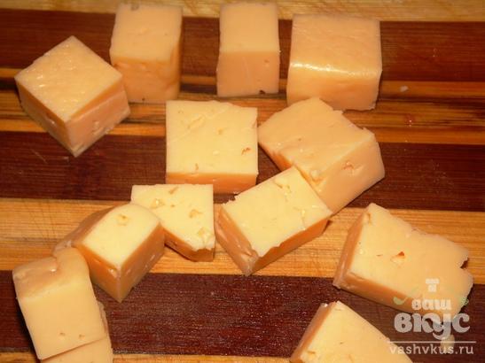 Закуска с арбузом и сыром