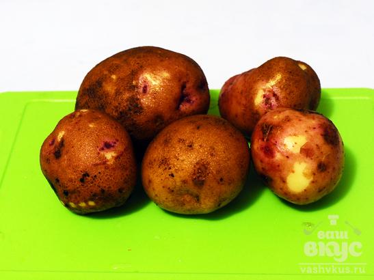Молодой картофель по-холостяцки