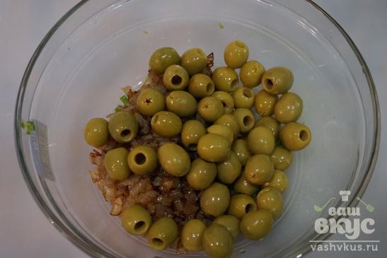Оливки в маринаде