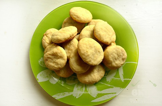 Ванильное печенье с творогом