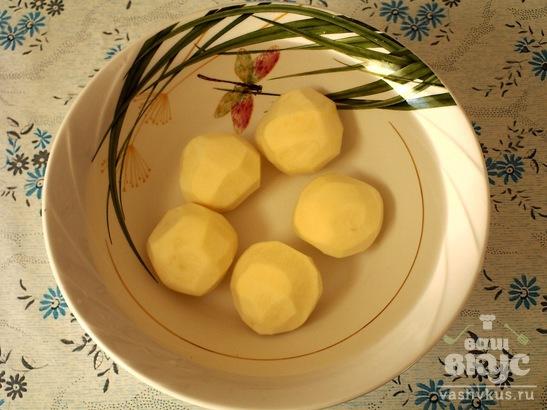 Картофельно - капустная шарлотка