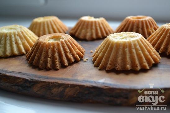 Песочное пирожное с итальянским безе