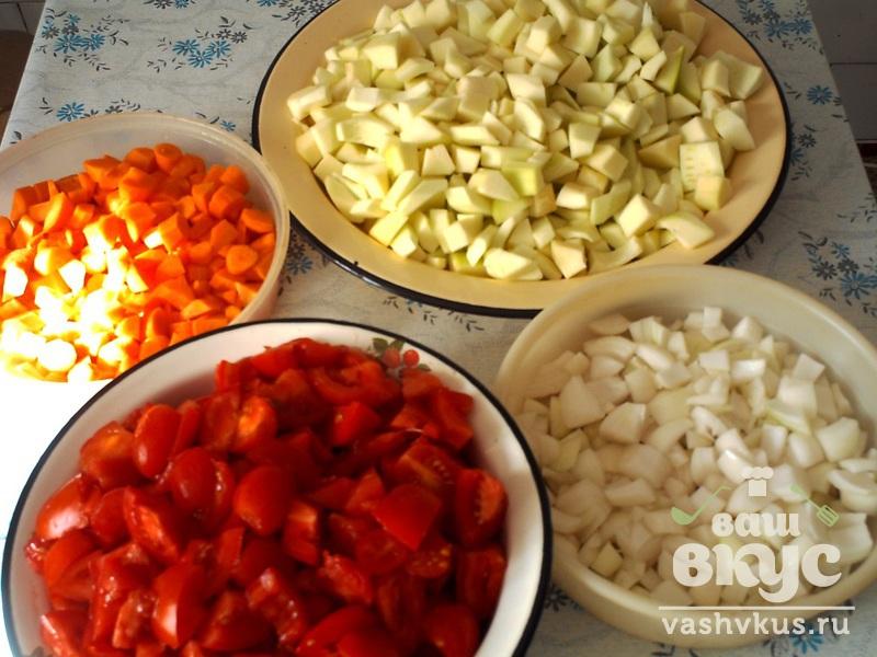 Кабачковая икра на зиму с томатами рецепт пошагово