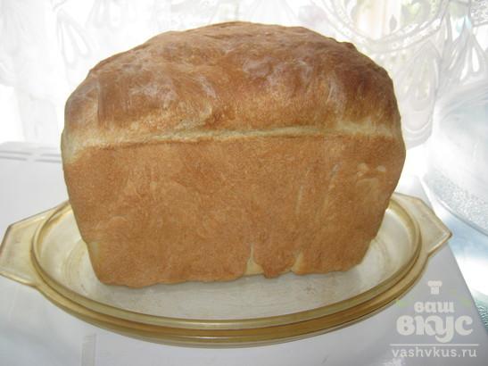 Деревенский хлеб на опаре
