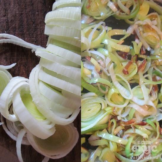 Лазанья овощная с кабачком