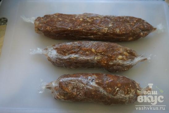Сладкая колбаска со сгущенкой