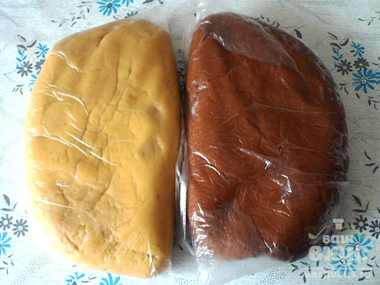 """Песочное печенье на сметане """"Сюрприз"""""""