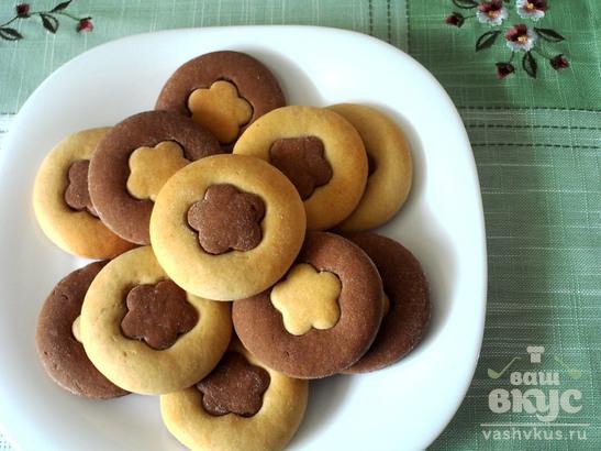 Песочное печенье с сметаной рецепт