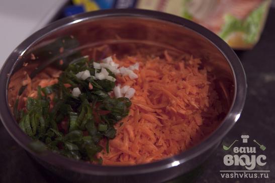 Закуска из кабачков и моркови