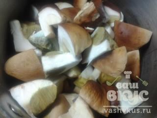 Грибной суп из боровиков