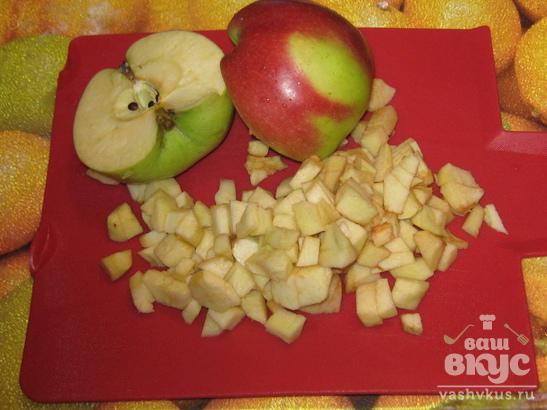 Сливово - яблочный джем