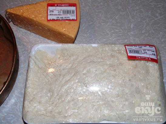 Хлебное кольцо с сыром