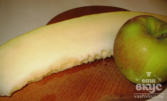 Фреш из дыни и яблока