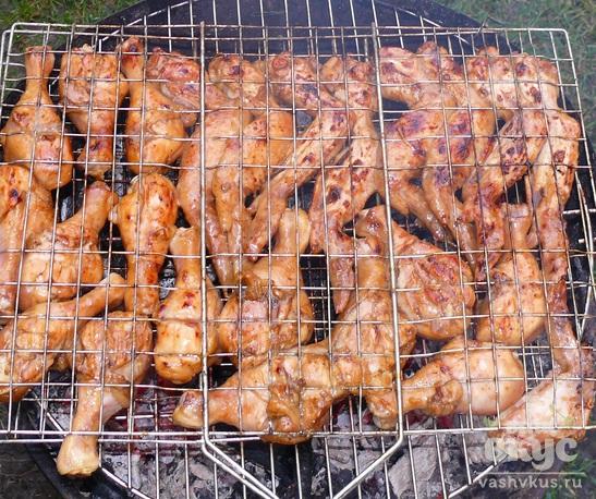 Куриный шашлык в азиатском стиле