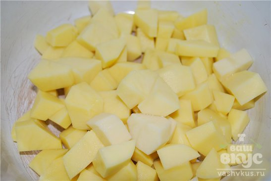 Рыбный суп из семги в мультиварке