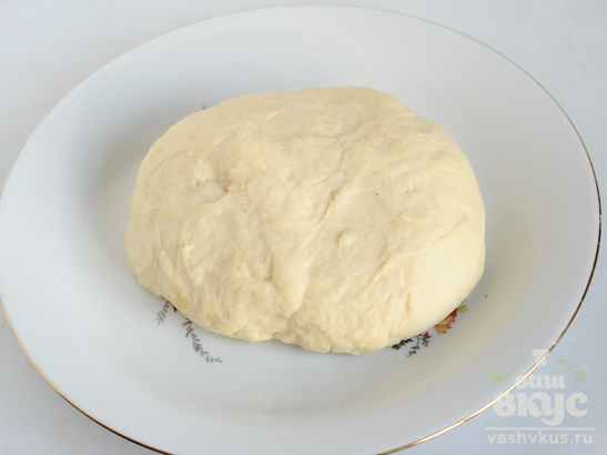 Пирог с ранетками