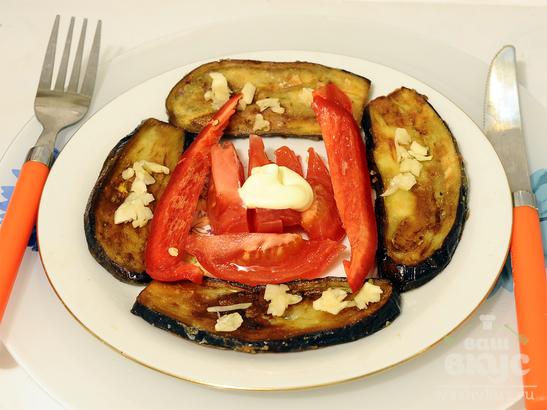 Горячая закуска из баклажанов «Колодец»