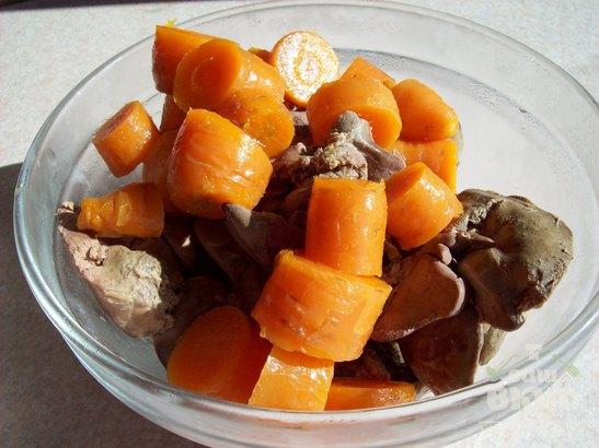 Паштет печеночный с морковью