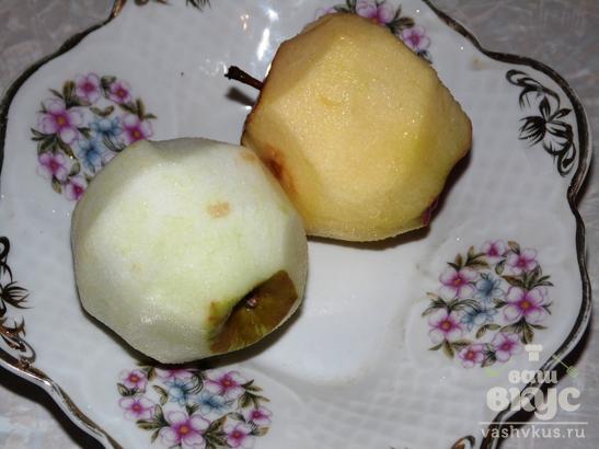 Желе из яблок с желатином
