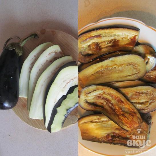Баклажаны по-грузински с брынзой и грецкими орехами